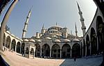 Sultan-Ahmed-Moschee (Blaue Moschee): Innenhof - Istanbul