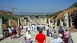 Celsus-Bibliothek am Ende der Kuretenstraße - Ephesus
