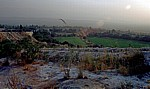 Blick auf das Dorf - Pamukkale
