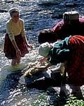 Frauen waschen Wolle - Ihlara-Tal