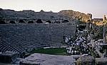 Theater: Innenansicht - Aspendos