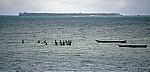 Fischer beim Einholen ihres Netzes - Daressalam