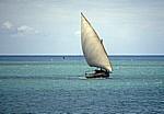 Dhau - Zanzibar Channel