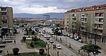 Blick vom Grand Hotel auf den Markt - Korça