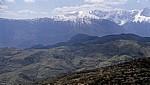 Terrassierte Felder - Albanien