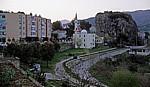 Blick auf das Stadtzentrum - Përmet