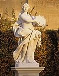 Belvedere: Statue der acht Musen - Wien