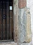 Myresjö: Portal der Alten Kirche (Myresjö g:a kyrka) - Eksjö