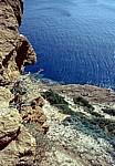 Steilküste - Kap Sounion