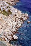 Steilküste am Saronischen Golf - Kap Sounion