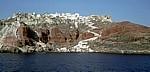 Blick auf Oia - Santorini
