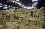 Ausgrabungsstätte - Akrotiri