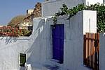 Hauseingang - Santorini