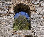 Frühchristliche Basilika: Fensternische - Butrint