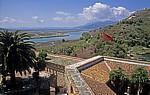 Blick von der Festung auf den Vivar-Kanal - Butrint