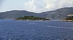Bucht von Porto Palermo (Panormon): Festung von Ali Pasha Tepelene - Albanische Riviera