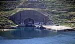 Bucht von Porto Palermo (Panormon): U-Boot-Station - Albanische Riviera