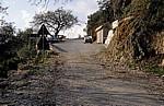 Straße Sarandë - Vlorë: Übergang zwischen alter und neuer Straße - Albanische Riviera