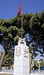 Denkmal zum Tag der Unabhängigkeit Albaniens am 28.11.1912 - Vlora