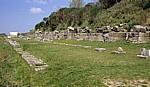 Portikus (Säulengang) - Apollonia