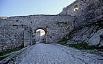 Burg (Kalaja): Haupttor - Berat