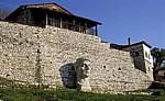 Burg (Kalaja): Büste des byzantinischen Kaisers Konstantin des Großen - Berat
