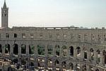Amphitheater: Arkadenbögen - Pula