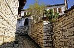 Burg (Kalaja): Gasse in der Festung - Berat