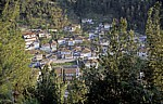 Blick von der Burg (Kalaja): Gorica - Berat - Berat