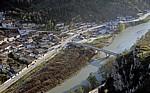 Blick von der Burg (Kalaja): Gorica und Osum - Berat - Berat