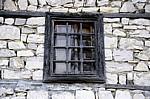 Burg (Kalaja): Holzfenster - Berat