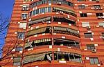 Blloku (Blockviertel): Wohnhaus - Tirana