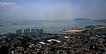 Blick vom Komtar Building - George Town (Penang)