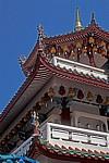 Kek Lok Si-Tempel: Lampions verzieren die Decken - Air Itam