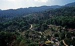 Blick von Kek Lok Si-Tempel auf das Hinterland - Air Itam