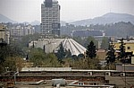 Blick vom Uhrturm: Pyramide - Tirana