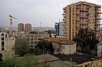 Blick vom Uhrturm: Wohnblocks - Tirana
