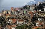 Blick von der Festung auf das Stadtzentrum - Kruja