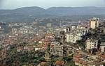 Blick von der Festung auf die Stadt - Kruja