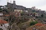 Blick auf die Festung - Kruja