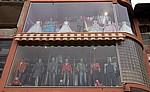 Schaufenster einer Boutique - Kruja