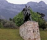 Skanderbeg-Denkmal - Kruja