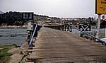 Holzbrücke über die Buna - Shkodra