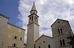 Altstadt: Kirche des Heiligen Johannes des Täufers - Budva