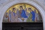 Altstadt: Kirche der Heiligen Dreifaltigkeit - Mosaik - Budva