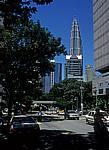 Blick auf die Petronas Towers - Kuala Lumpur