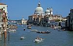 Canal Grande, Santa Maria della Salute - Venedig