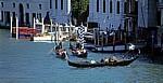 Canal Grande: Gondeln - Venedig