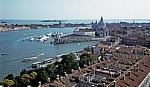 Blick vom Campanile: Santa Maria della Salute - Venedig