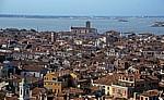 Blick vom Campanile - Venedig